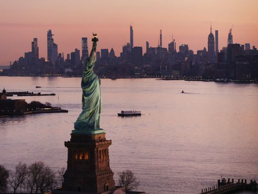 New York empfängt wieder Besucherinnen und Besucher