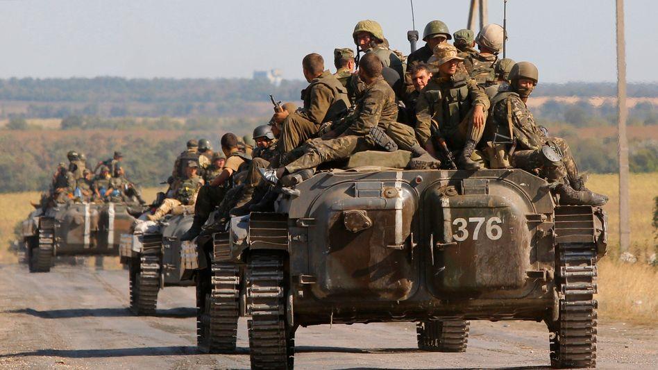 Ukrainische Soldaten (Archivbild)