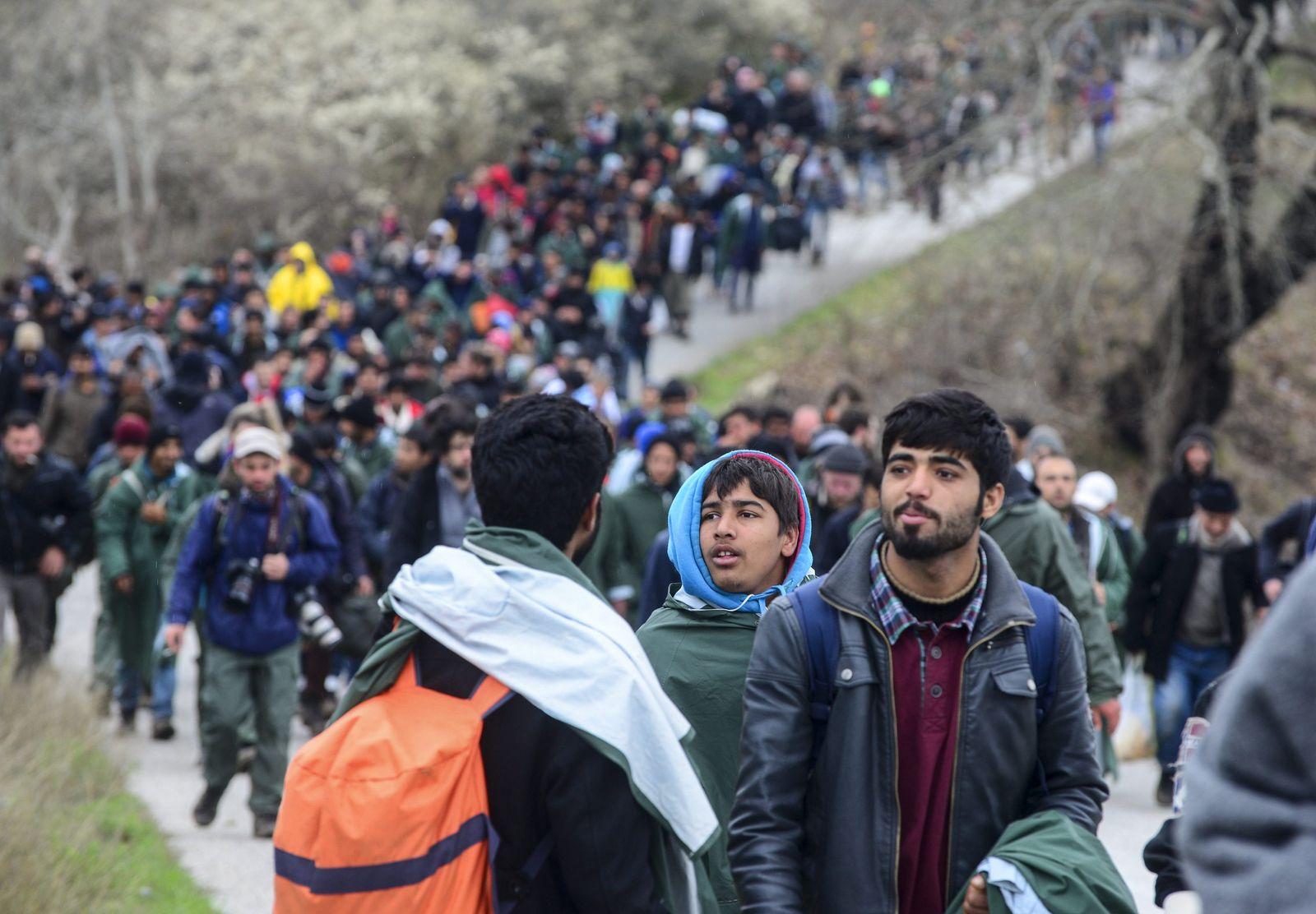 Idomeni / Flüchtlinge