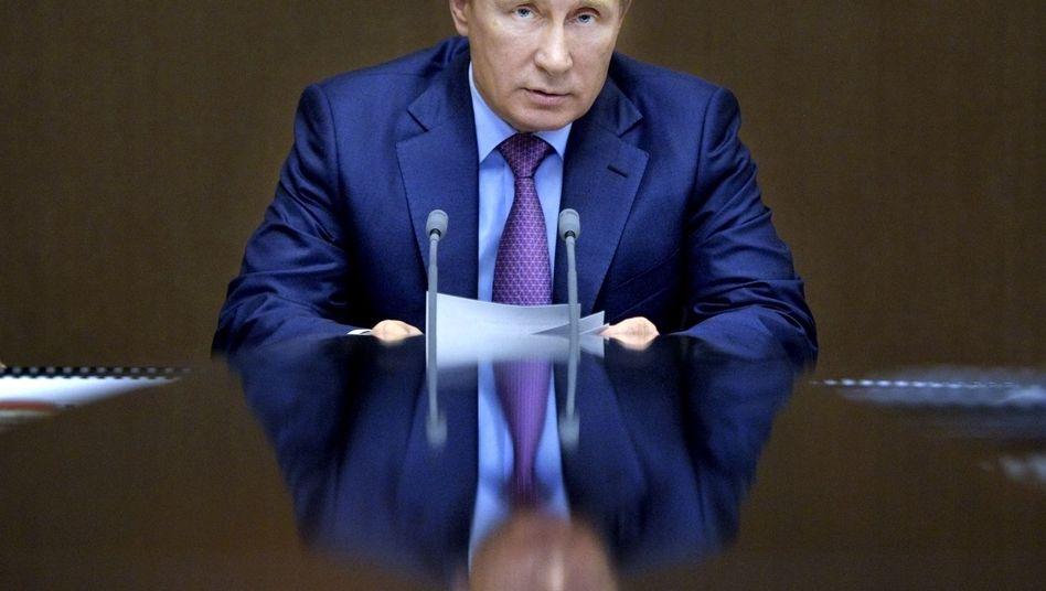 """Präsident Putin: """"Wir werden niemals dulden, dass solche Verbrechen wie das heutige begangen werden"""""""