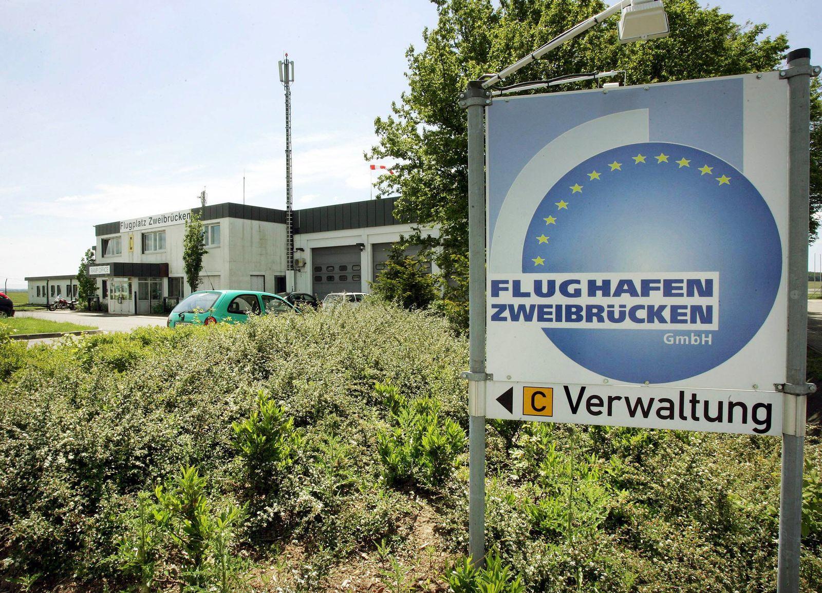 EINMALIGE VERWENDUNG Flughafen Zweibrücken