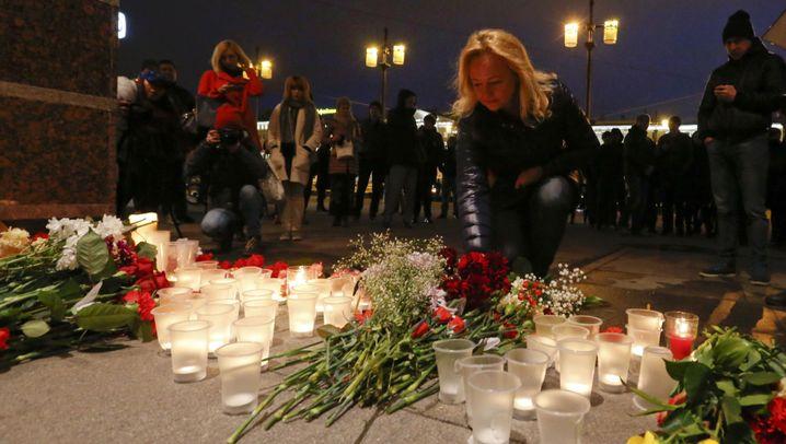 Terrorermittlungen in Sankt Petersburg: Attentat im Untergrund