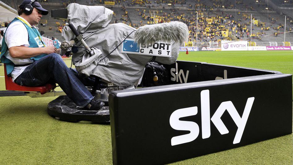 Bundesliga-Übertragung bei Sky: Hohe Kosten
