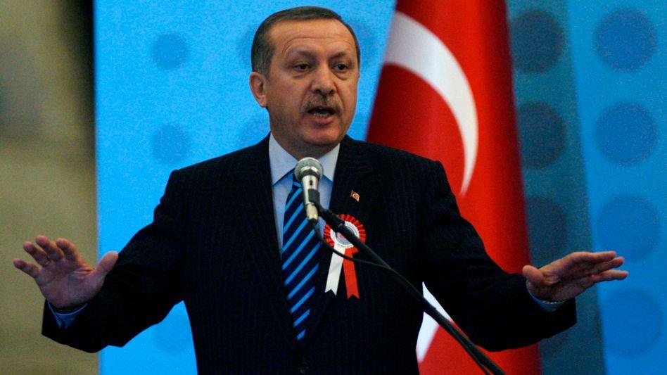 """Türkischer Regierungschef Erdogan: """"Noch nicht die Zeichen der Zeit erkannt"""""""