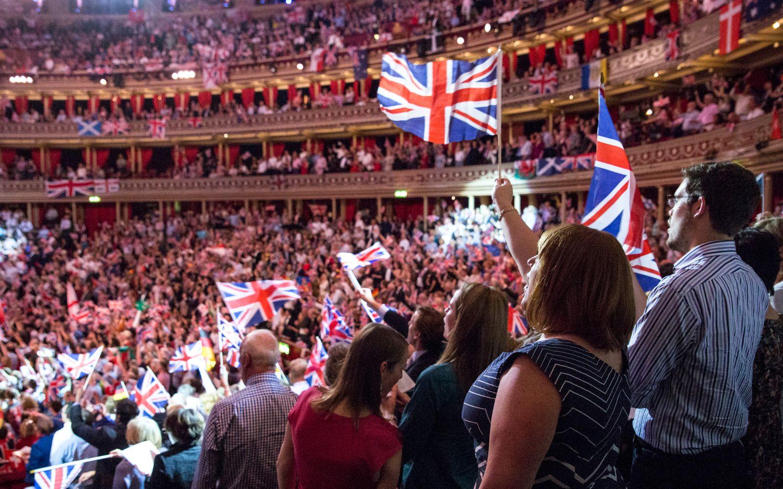 Last Night Of The Proms 2014 - Royal Albert Hall