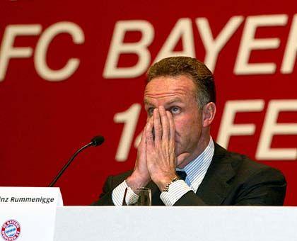 Bayern-Boss Karl-Heinz Rummenigge: Viel Ärger für den Rekordmeister