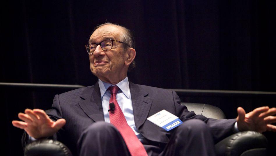 """Früherer US-Notenbankchef Alan Greenspan: """"Der Euro bricht auseinander"""""""