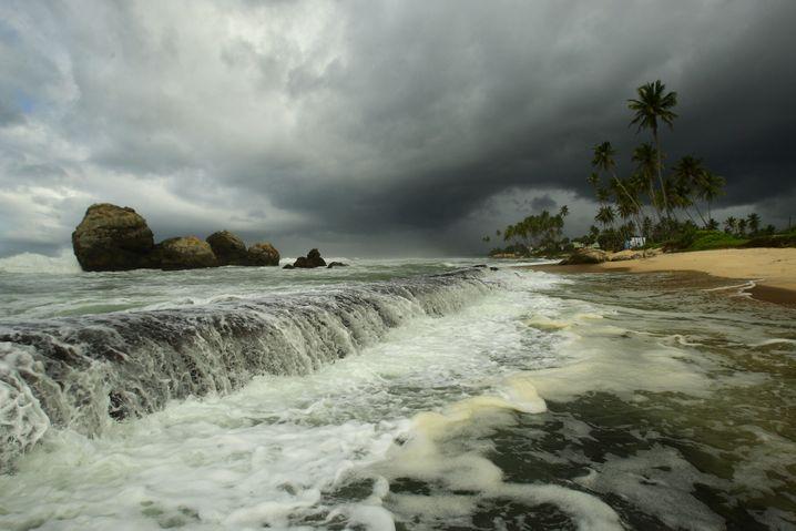 Monsun über Sri Lanka: Mehr Starkregen in einer wärmeren Welt