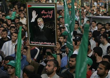 "Palestinian Prime Minister Ismail Haniyeh: ""We call upon the Palestinian people to boycott the referendum."""
