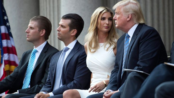 Fotostrecke: Trumps Familie