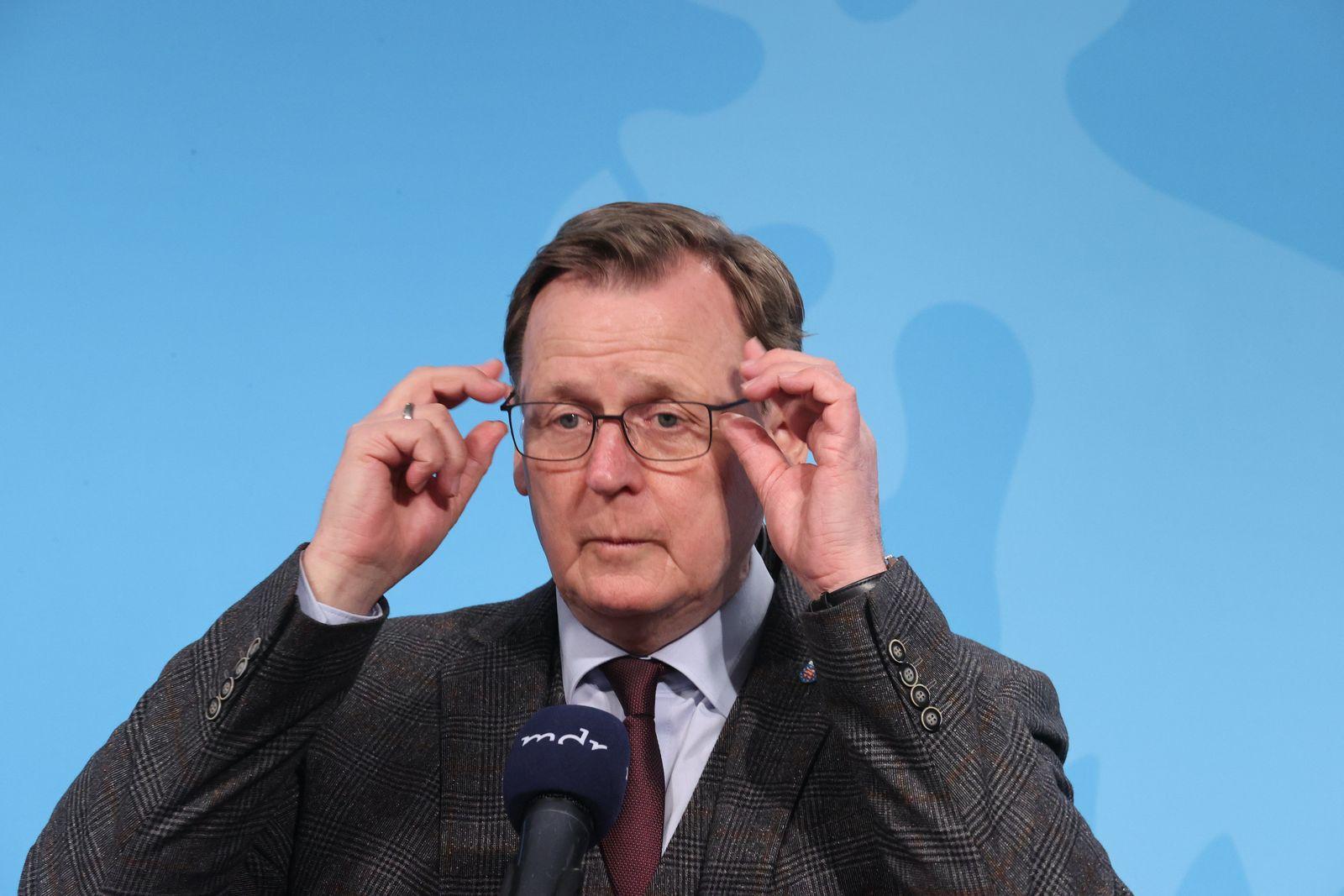 Bund-Länder-Beratungen - Thüringen