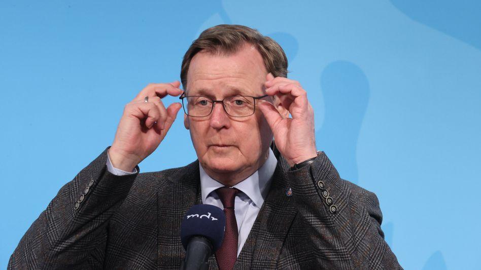 Linken-Ministerpräsident Bodo Ramelow