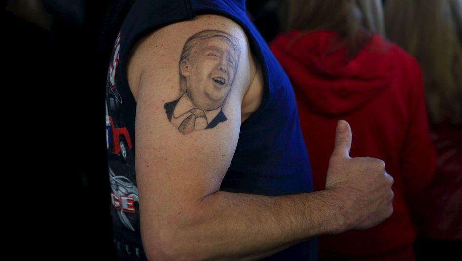 Trump-Unterstützer in Ohio