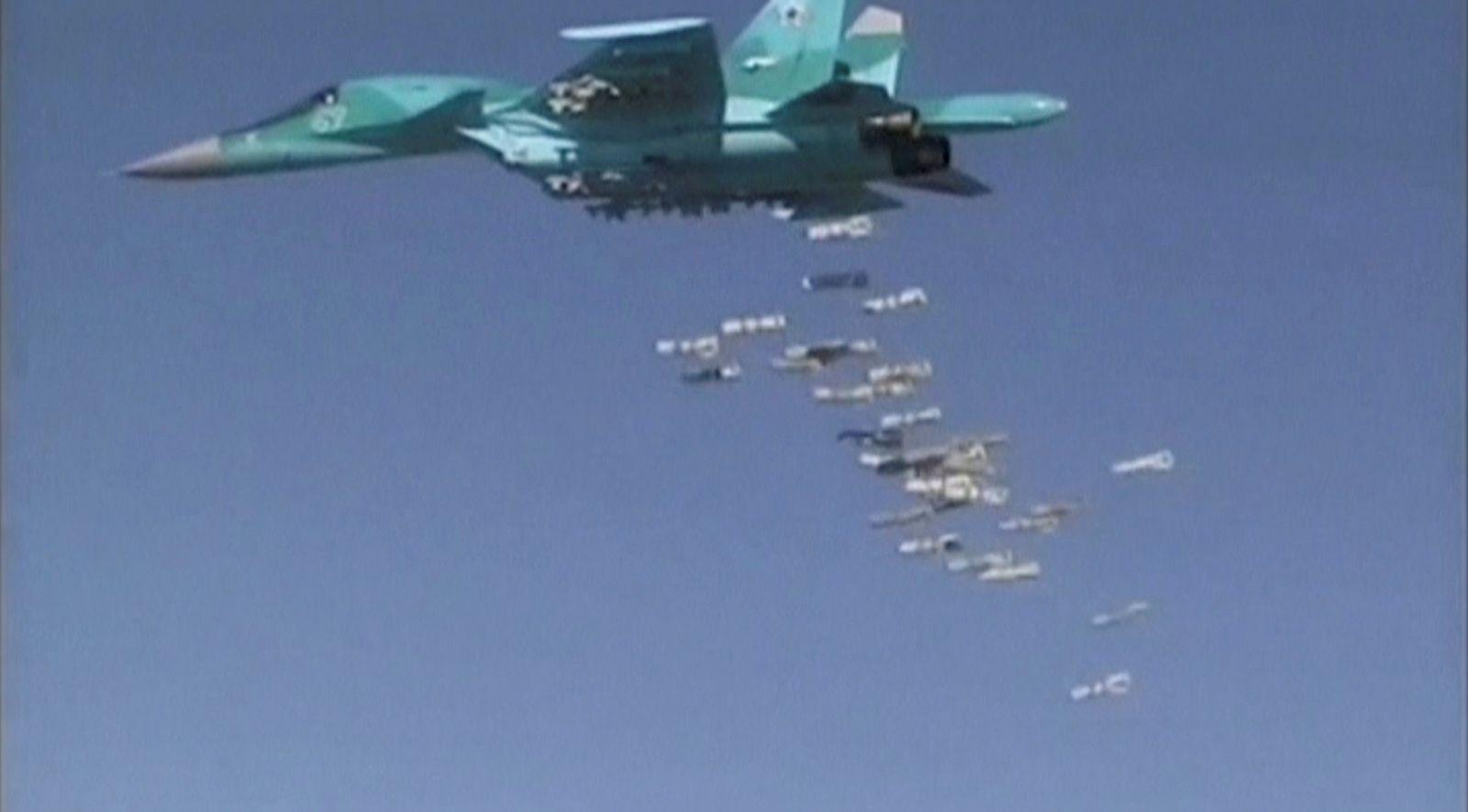 Kampfjet / Syrien / Bomben/ Russland/ Einsatz/ Syrien/ Probleme