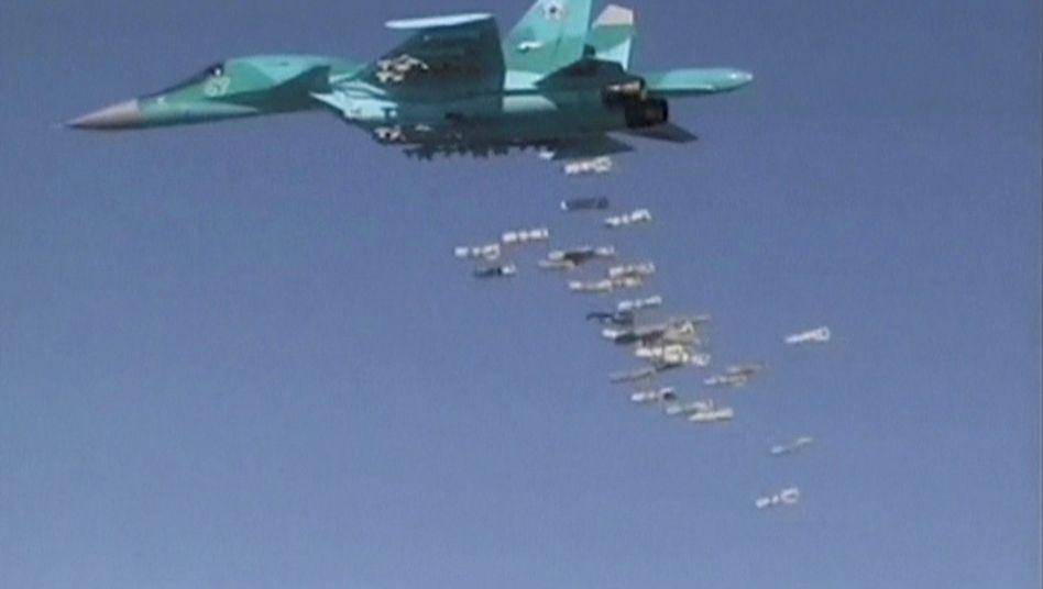 Russischer Kampfjet in Syrien (August 2016)