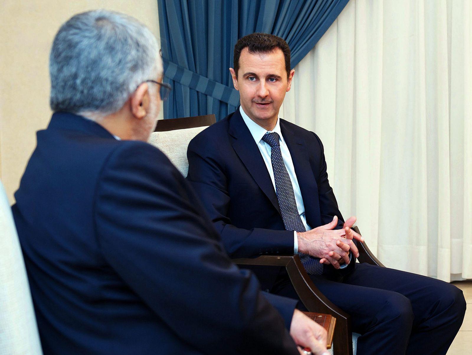 Alaeddin Boroujerdi / Bashar Assad