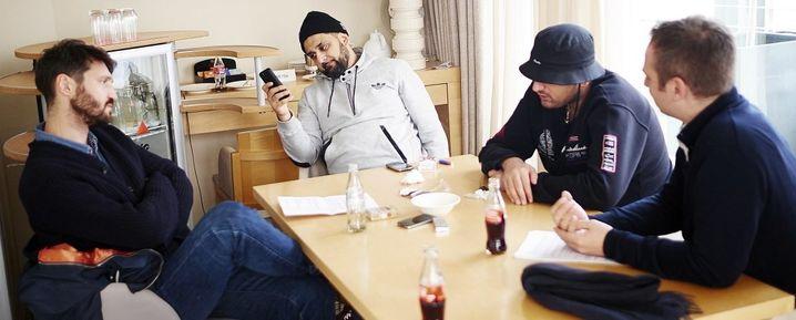 Oehmke, Manager, Rapper Haftbefehl, Rapp