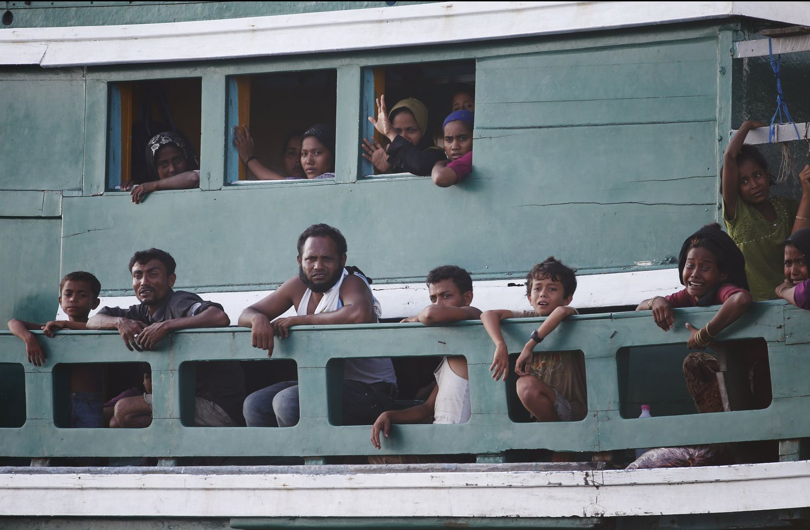 Flüchtlinge Südostasien