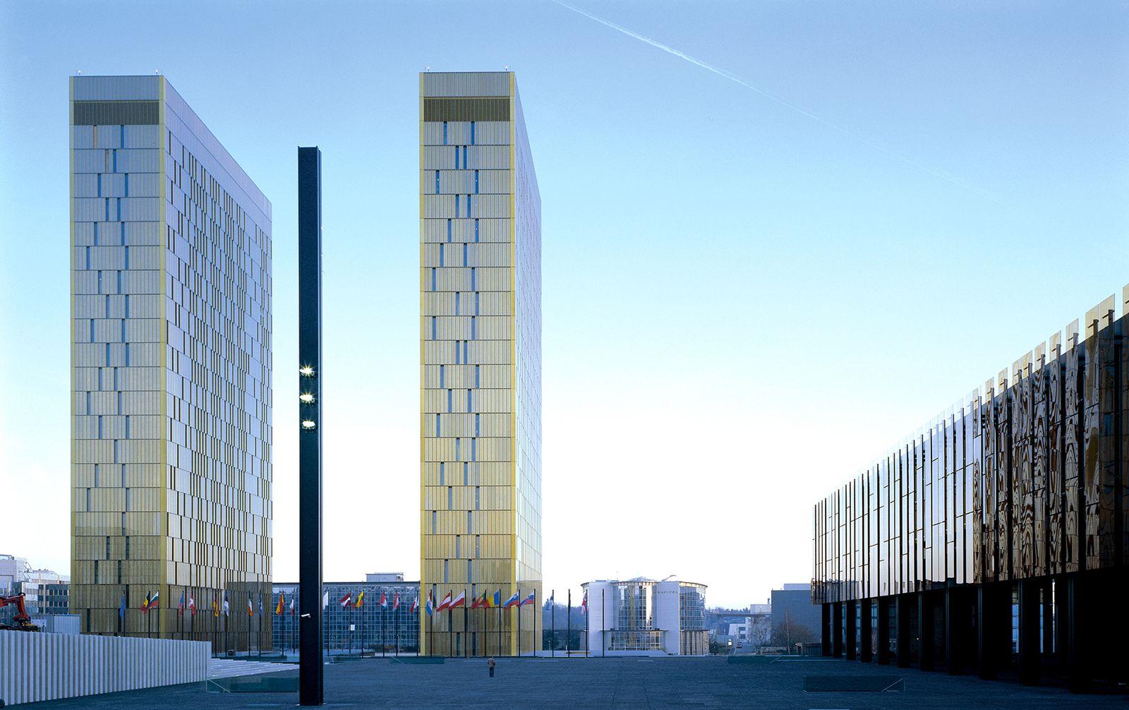Europischer Gerichtshof (EuGH) in Luxemburg