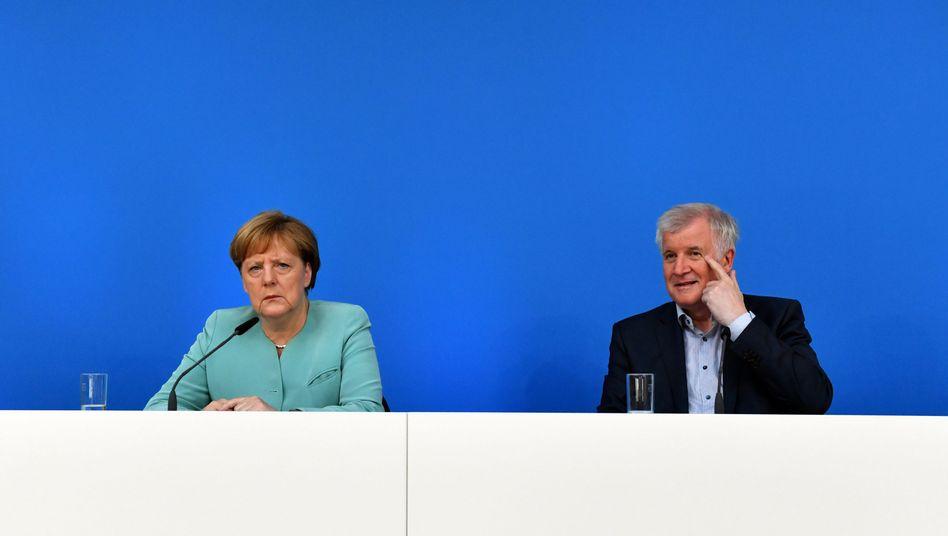 Merkel, Seehofer