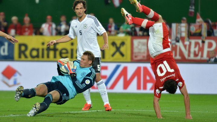 DFB-Einzelkritik: Agiler Müller, katastrophaler Schmelzer