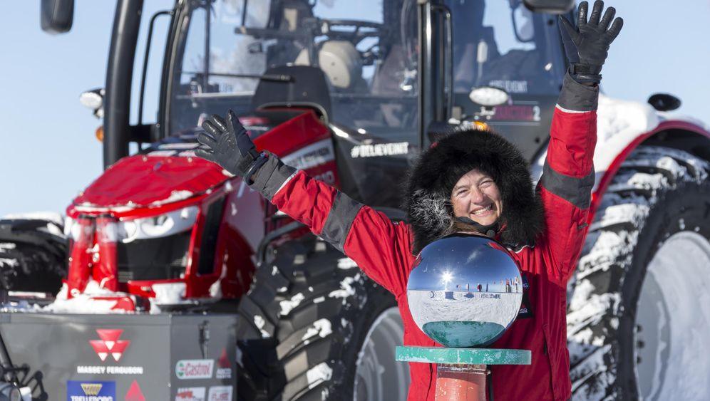 Im Traktor von Holland zum Südpol: Angekommen!