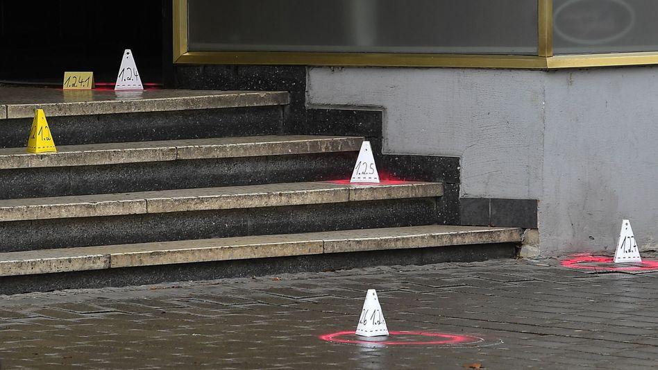 Spurensicherung an Tatort