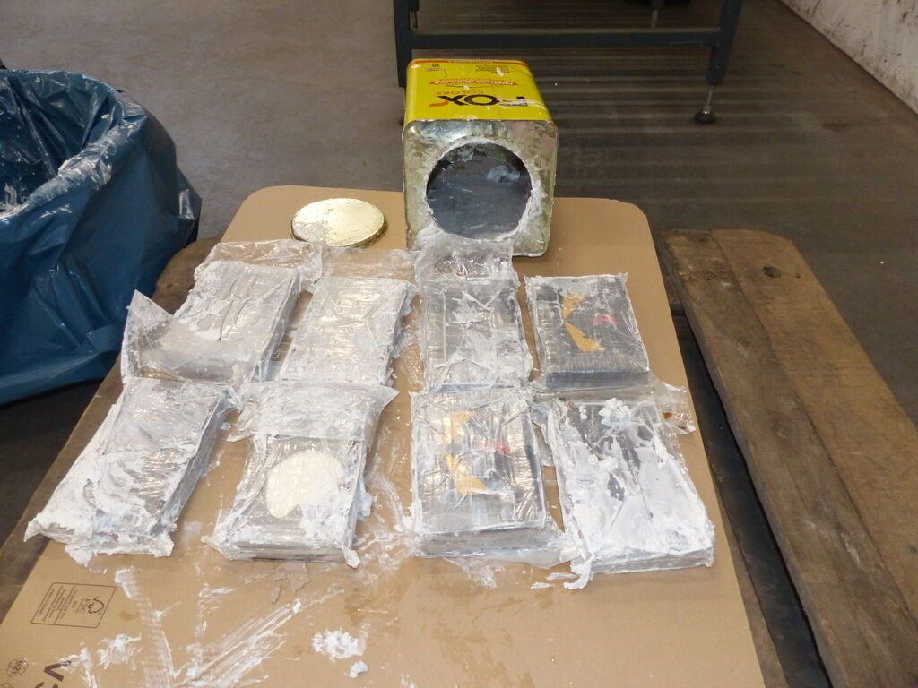 Zoll stellt Rekordmenge Kokain sicher