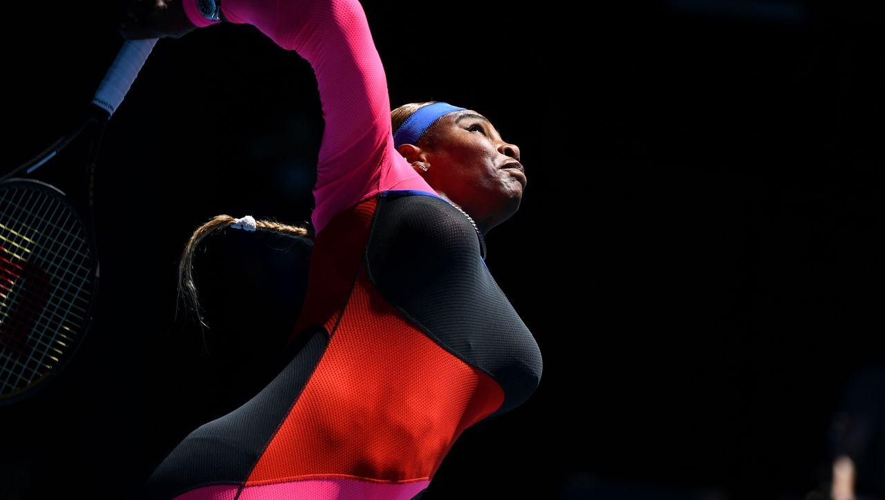 Serena Williams' Aus bei den Australian Open: Die Tränen der Rekordjägerin - DER SPIEGEL