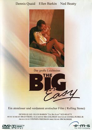DVD Cover - The Big Easy