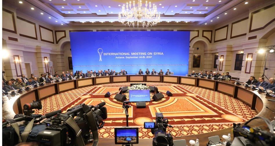 Syrien-Konferenz in Astana