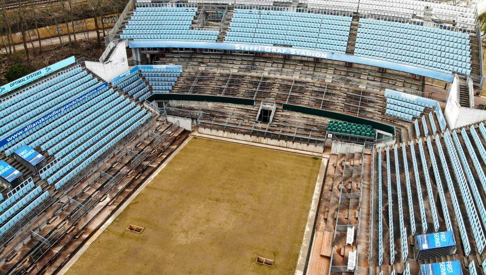 Der Rasen ist gesät, in Berlin wird vorerst aber kein Tennis gespielt