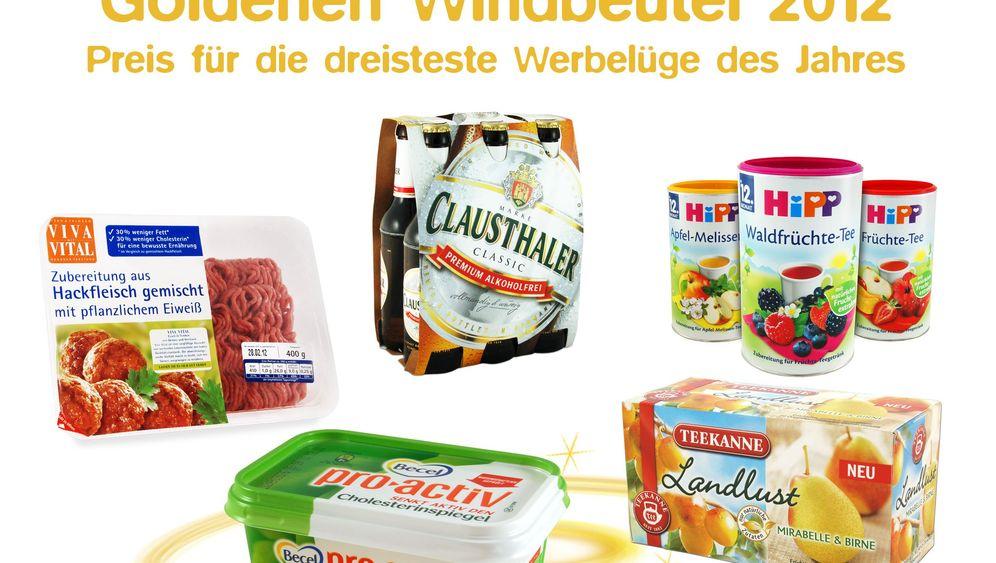 Fotostrecke: Dreisteste Werbelüge 2012