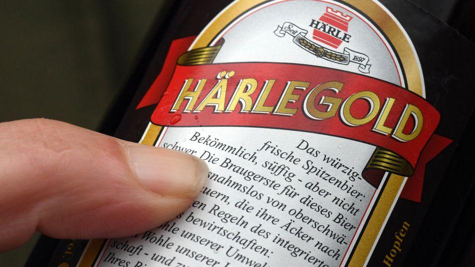 Etikett des umstrittenen Biers