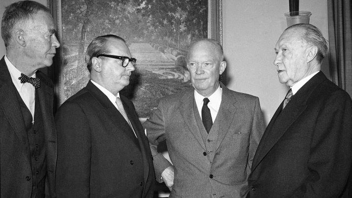 Kanzler und US-Präsidenten: Szenen einer schwierigen Freundschaft