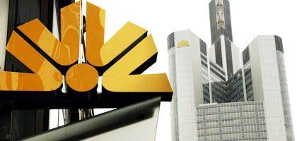 Ein Commerzbank-Zentrale: Bedrohlich schwindende Kernkapitalquote