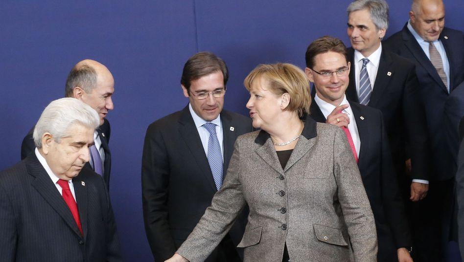 Gipfel in Brüssel: EU vertagt Reformen auf Sommer 2013