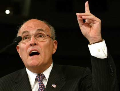 Giuliani vor dem 9/11-Ausschuss