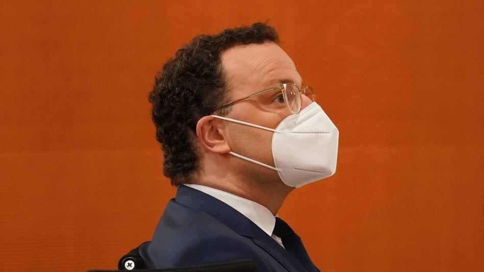 »Damals gültige Regeln eingehalten«: Gesundheitsminister Jens Spahn (CDU)