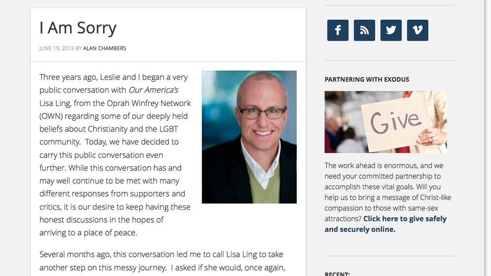 Homophob-christliche Gruppe: Exodus International löst sich auf
