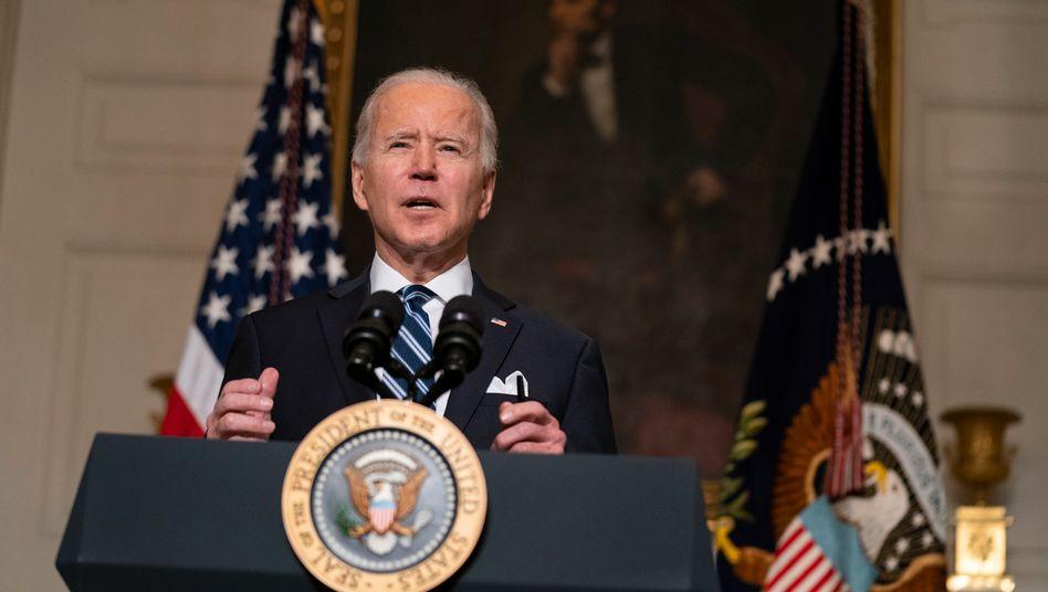 Joe Biden: Seine Kehrtwende kommt nach vier Jahren Trump gut an