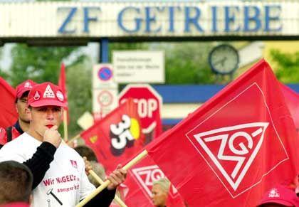 """Streik für die 35-Stunden-Woche in Ostdeutschland: """"Wir haben nichts davon"""""""