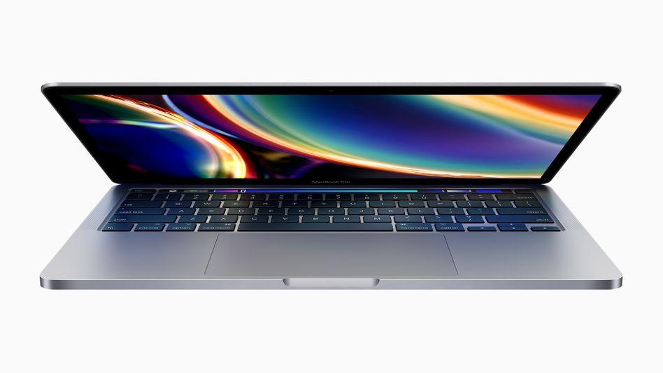 Das neue 13-Zoll-MacBook-Pro von Apple: Nicht nur die Elektronik wurde verbessert