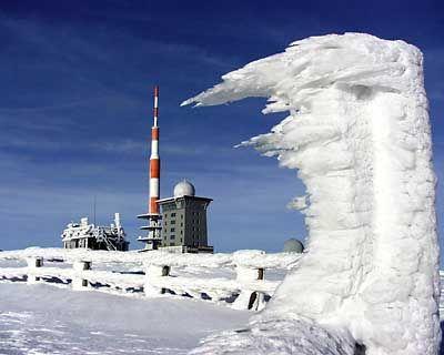 Schnee auf dem Brocken: Bald Vergangenheit?