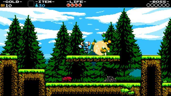 """""""Shovel Knight"""": Das Spiel wurde über die Crowdfunding-Plattform Kickstarter finanziert"""