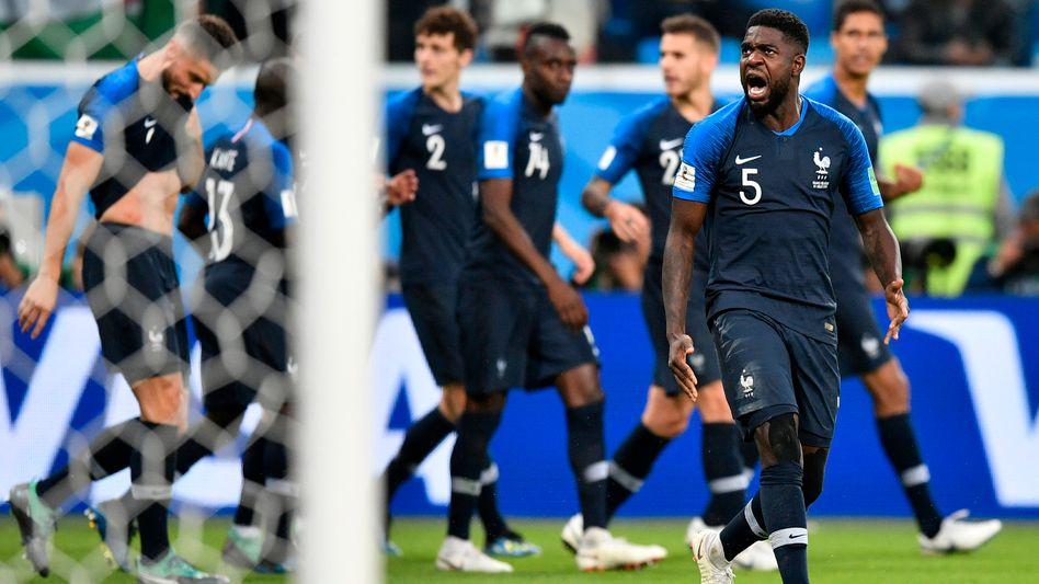 Die französische Nationalmannschaft