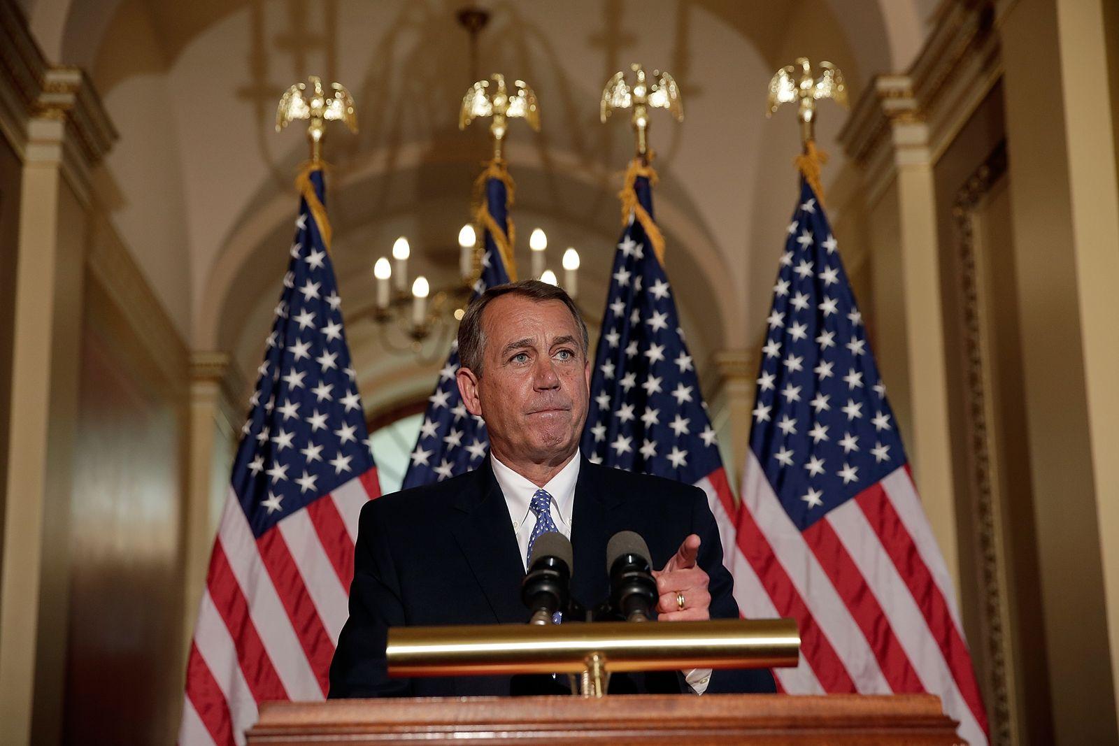 Shutdown/ John Boehner