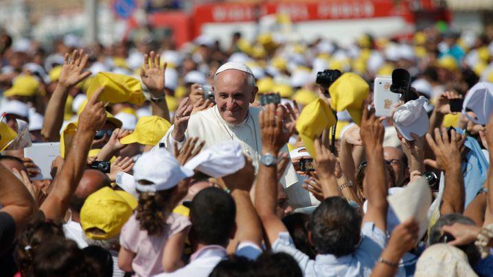 Papst Franziskus: Besuch auf Lampedusa