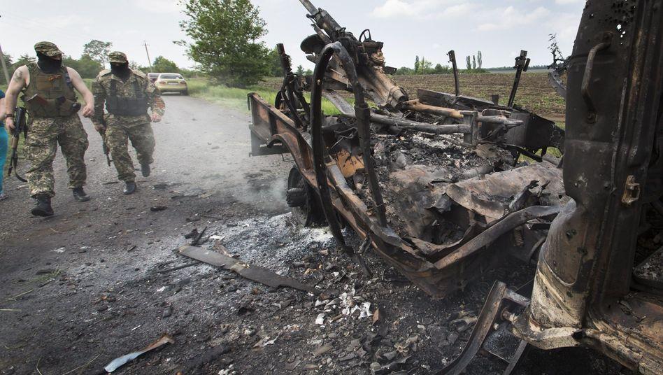 """""""Selbstverteidigungskräfte"""" in der Ostukraine: Uno rügt Gewalt"""