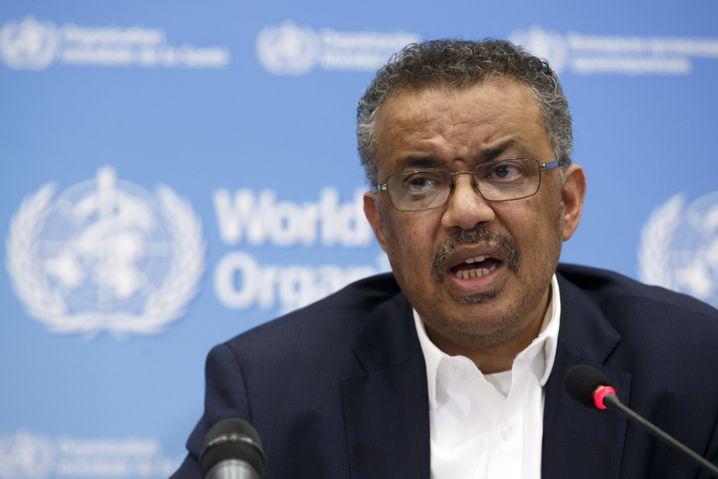 Tedros Adhanom Ghebreyesus, Leiter der Weltgesundheitsorganisation (WHO)
